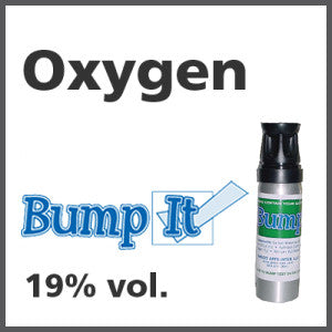 Oxygen Bump-It Gas - 19% vol. (O2)
