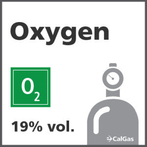 Oxygen Calibration Gas - 19% vol. (O2)
