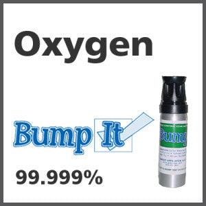 Oxygen Bump-It Gas - 99.999% vol. (O2)