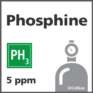 Phosphine Calibration Gas - 5 ppm (PH3)
