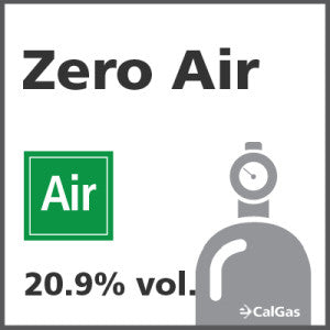 Zero Air Calibration Gas - 20.9% vol.