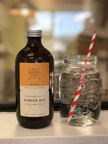 Six Barrel Soda Co. Ginger Ale