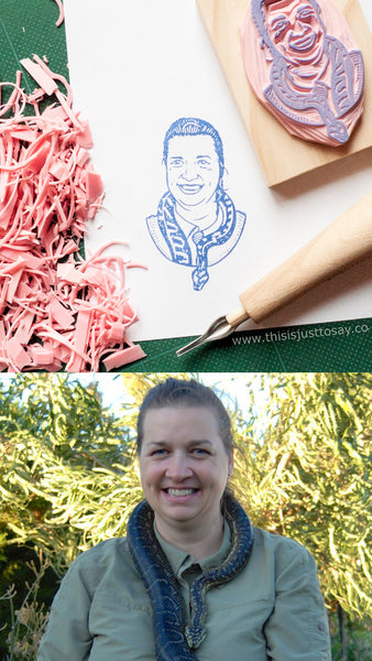 Custom Portrait Stamp