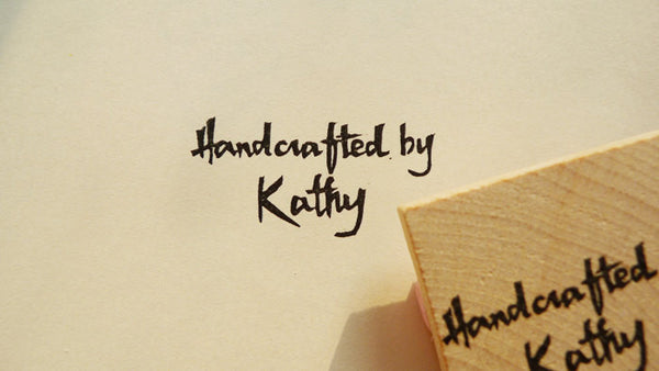 Handmade by YOU, Custom Stamp