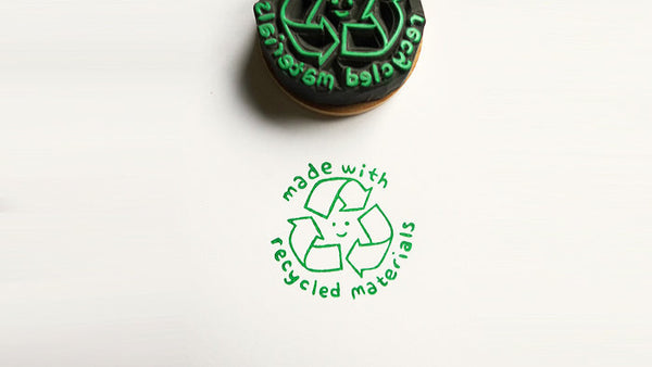 Made with Recycled Materials