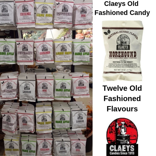 Claeys Candy Display Program 144 Bags