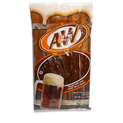 a & w root beer licorice 12/142 g wholesale