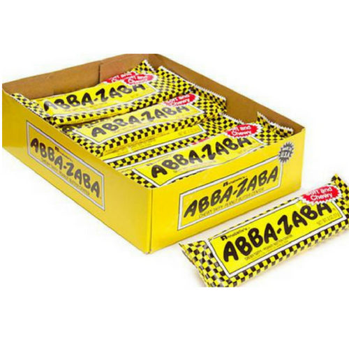Abba Zaba Candy Bars 24 ct  box wholesale candyonline.ca