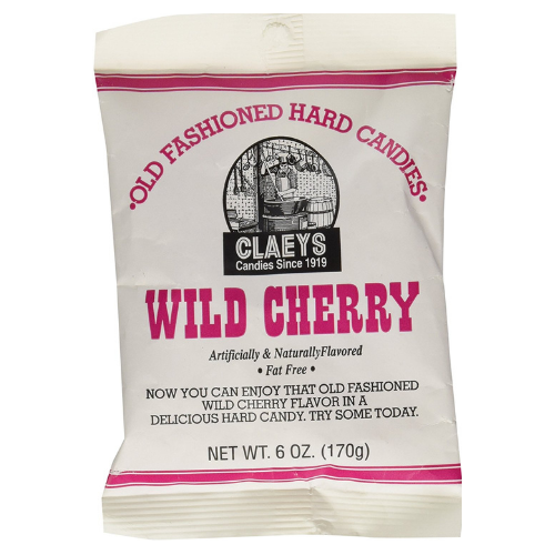 claeys-wild-cherry-hard-candies-24-count-170g