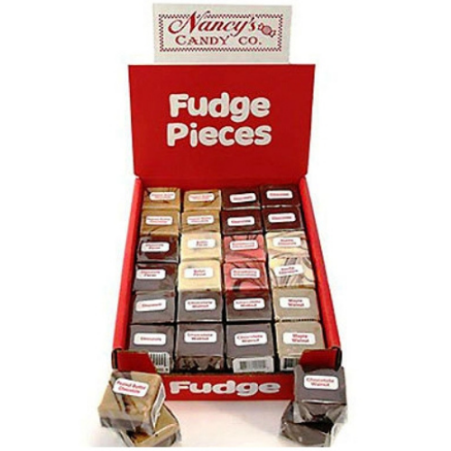 Nancy's assorted fudge pieces 48 count box