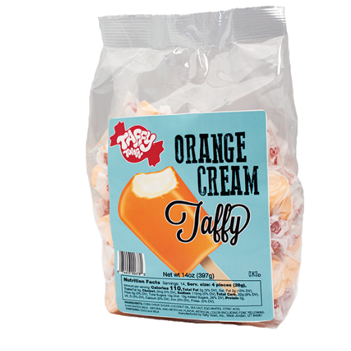 orange cream salt water taffy 397 g bag canada