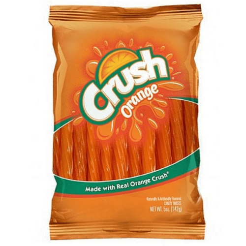 orange crush licorice wholesale 12/142 g bags