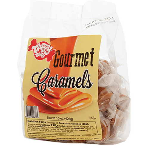 gourmet caramel salt water taffy wholesale canada