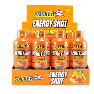 Stacker 2 Energy Shots Orange 12/2oz