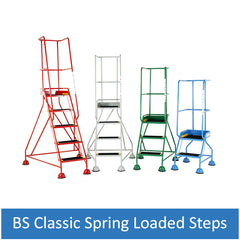 British Standard Classic Spring Loaded Steps