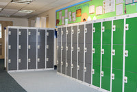 A Storage Bitz school locker installation