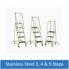 Stainless Steel 3, 4 & 5 Steps