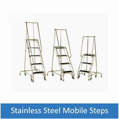 Stainless Steel Mobile Steps