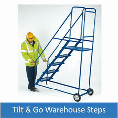 Tilt & Go Warehouse Steps