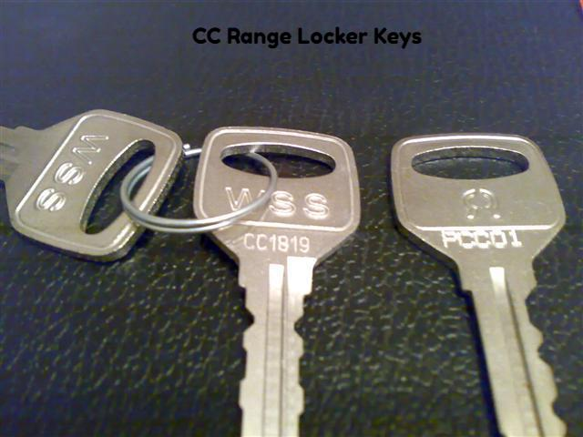 Replacement Locker Keys