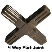 Handy Tube 4 Way Flat Joint