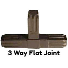 Handy Tube 3 Way Flat Joint