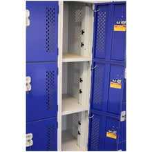 Power Tool Charging Locker with Double Sockets