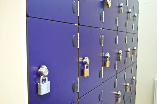 Hasp & Staple Lock - Laminate Door Lockers
