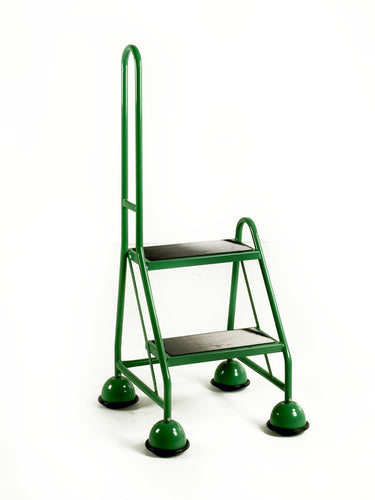 Single Sided Mobile 2 Step - Single Handrail