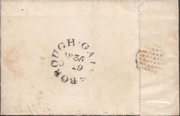 100013 - LINCS/GAINSBOROUGH DATE STAMP (LI348).