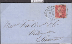 101273 - 1857 DIE 2 PL.49 TRANSITIONAL PRINTING (C9(4) ON COVER.