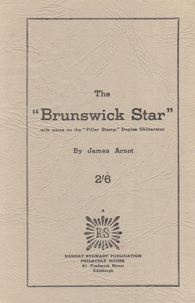 "101434 - THE ""BRUNSWICK STAR"" BY ARNOT."