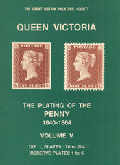 101609 - THE PLATING OF THE PENNY 1840-1864 BY BROWN FISHER VOLUME 5.