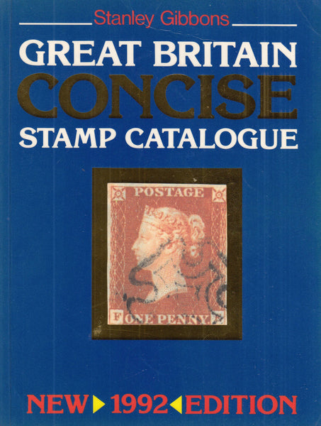 101646 - STANLEY GIBBONS CONCISE STAMP CATALOGUE 1992 EDITION.