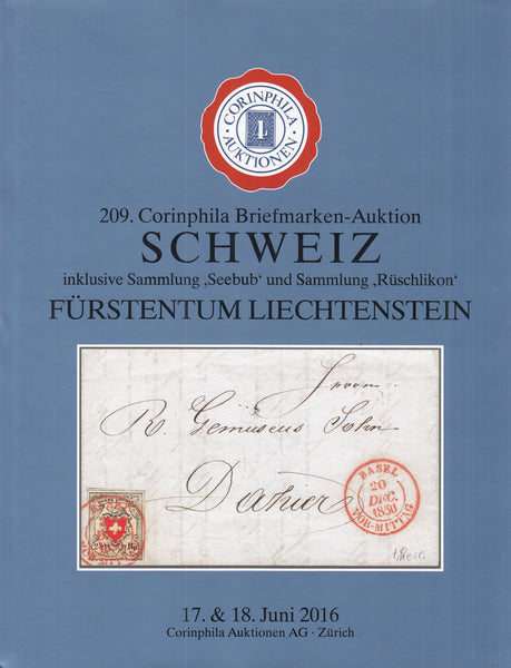 101734 - SWITZERLAND AND LIECHTENSTEIN.