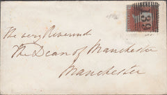 102339 - 1D ARCHER EXPERIMENTAL PERFORATION PL.98 (CD) (SG16b) USED ON COVER FALKIRK TO MANCHESTER.