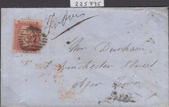 102635 - PL.10 (TF) (SG21) ON COVER/MANUSCRIPT ATTEMPTED DELIVERY.