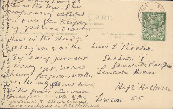 102773 - CAMBS/1916 BARRINGTON CDS.