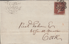 103333 - PL.14 (JG) (SG8)/DUBLIN COMMON CROSS ON COVER.