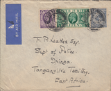 103379 - 1935 MAIL WOKING TO TANGANYIKA.