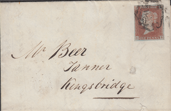 103525 - PL.24 (DB)/PLYMOUTH COMMON TYPE MALTESE CROSS.