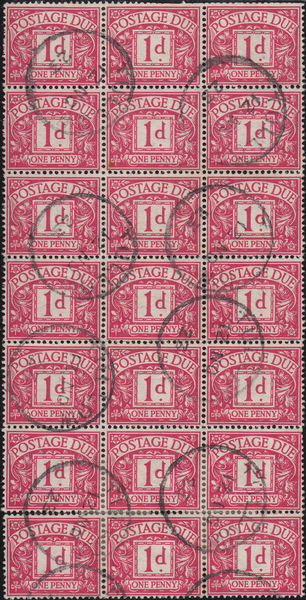 103626 - 1914 G.B. POSTAGE DUES (SGD2) USED IN IRELAND IN THE TRANSITIONAL PERIOD 1923.