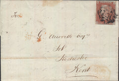 103888 - THE DISTINCTIVE MALTESE CROSS OF NORWICH ON COVER (SPEC B1ts CAT. £1800).
