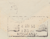104046 - 1953 MAIL BEACONSFIELD TO INDIA/2/6 YELLOW-GREEN (SG509).