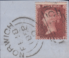 104886 - PL.60 (QG) PERFORATION 16 (SG36) ON DATED PIECE.