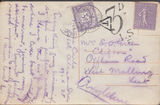 105228 - 1925 UNDERPAID MAIL MONTE CARLO TO KENT DUE TO INVALID USE OF FRENCH STAMP.
