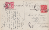 105624 - 1915 UNDERPAID MAIL CANADA TO DONCASTER.