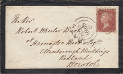 106109 - PL.11 (FG)(SG21) ON MOURNING ENVELOPE.