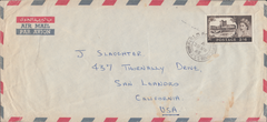 106148 - 1965 MAIL FIELD POST OFFICE (ADEN) TO USA/2/6 CASTLE.