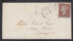 106364 - PL.9 (JF)(SG24) ON MOURNING ENVELOPE.